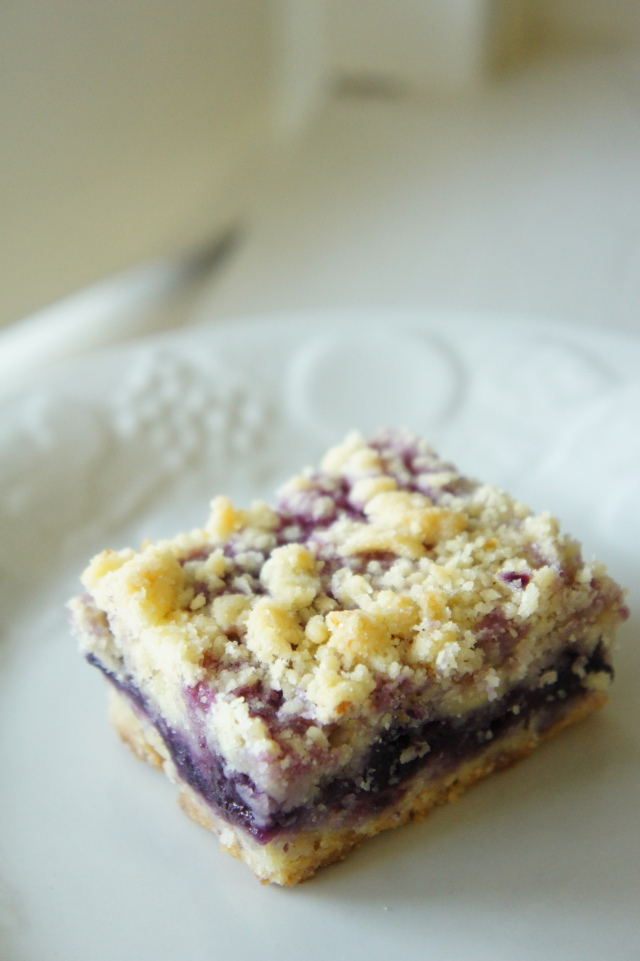 Blueberry Lemon Slice | Close Encounters of the Cooking Kind
