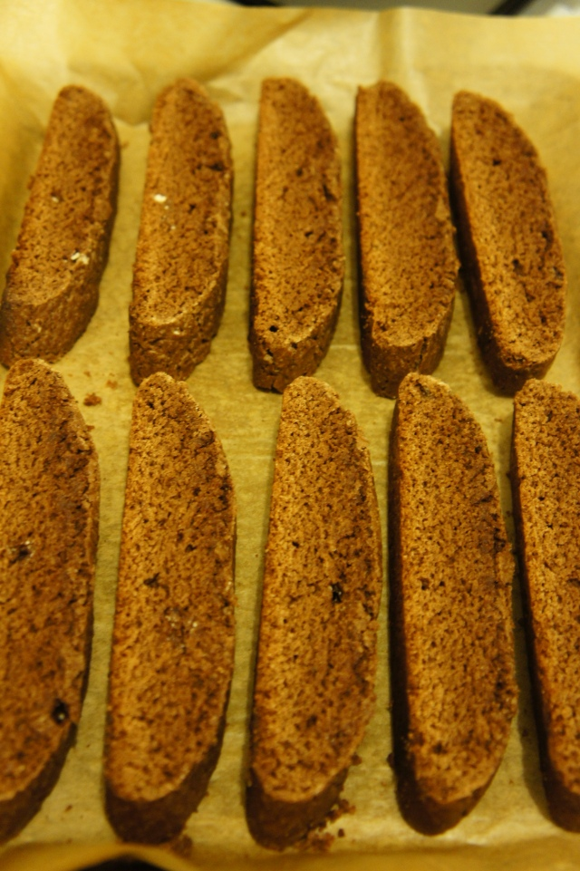 Chocolate Biscotti   Close Encounters of the Cooking Kind