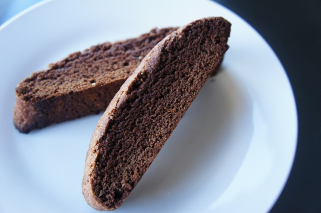 Chocolate Biscotti | Close Encounters of the Cooking Kind