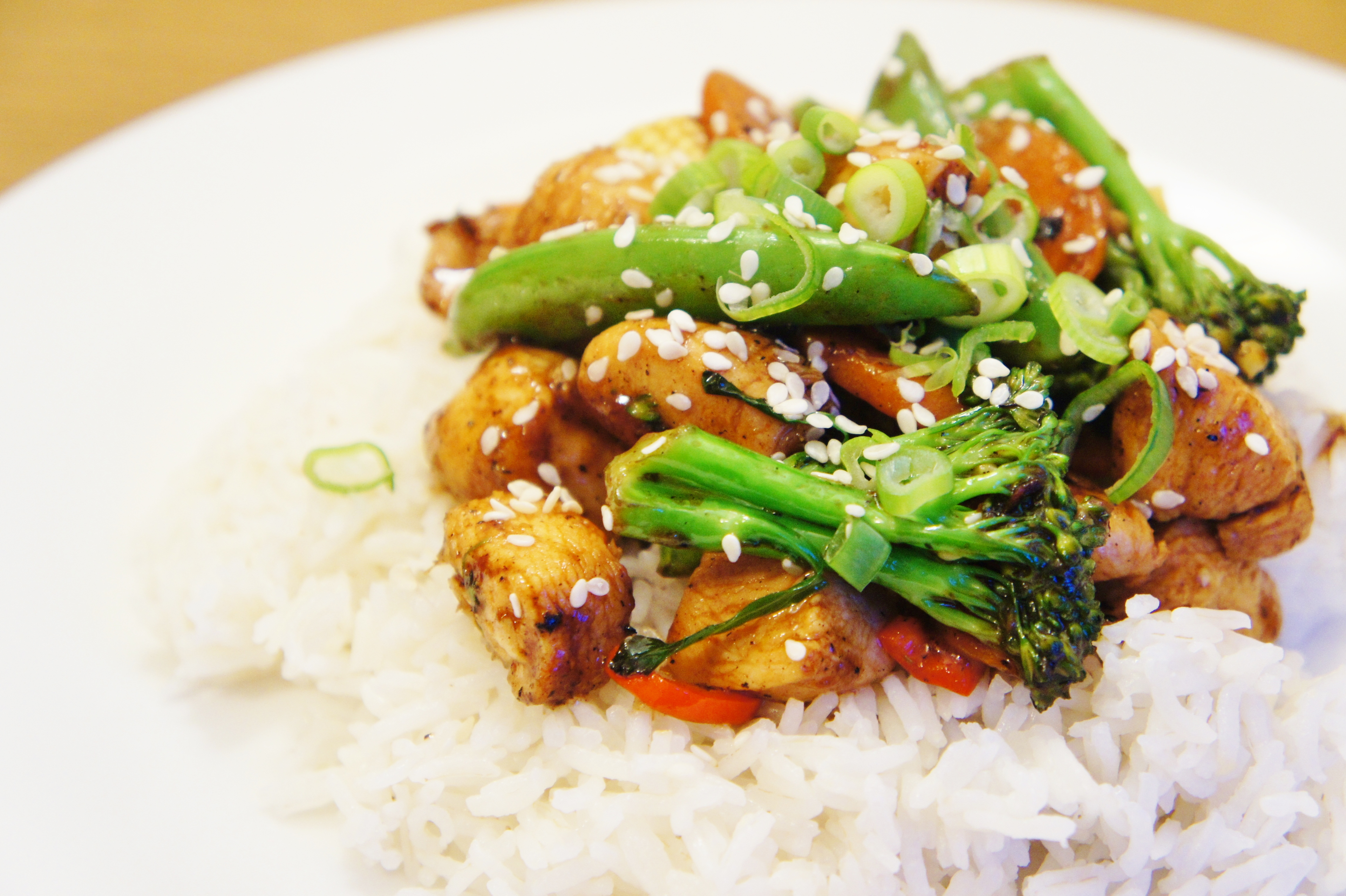 Marinated Chinese Chicken and Vegetable Stir-Fry | Close Encounters of ...
