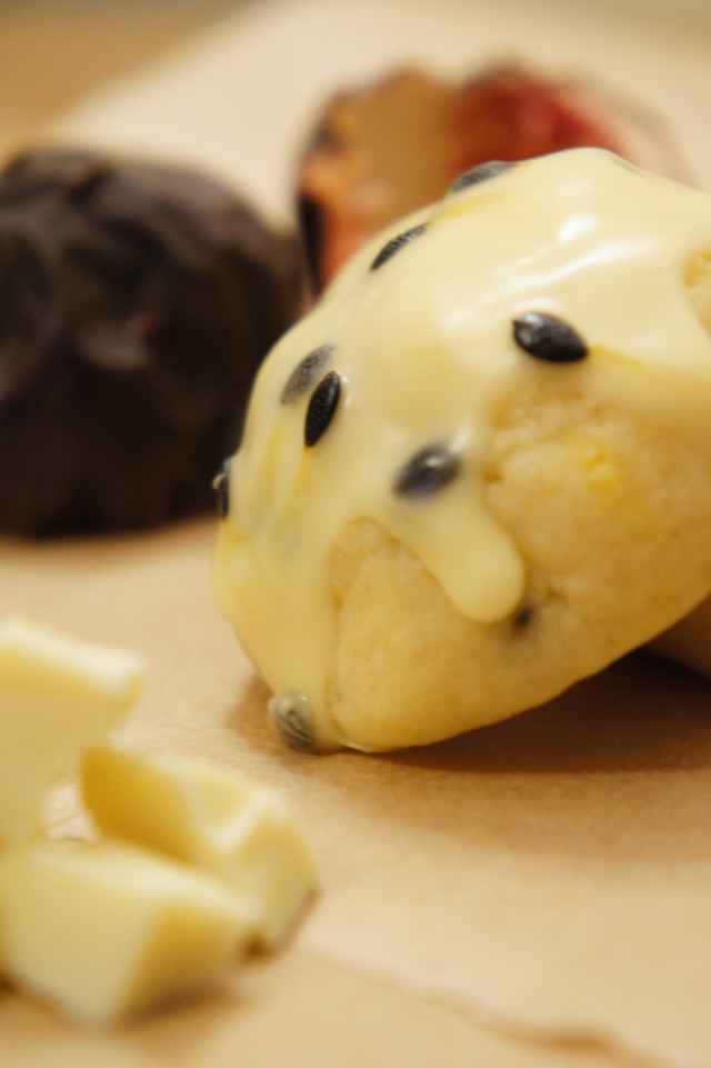 Passionfruit & White Chocolate Biscuits | Close Encounters of the Cooking Kind