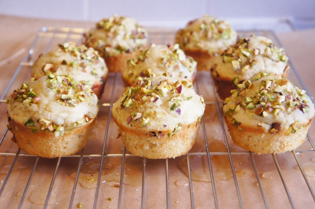Lime & Pistachio Muffins | Close Encounters of the Cooking Kind