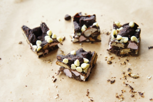 Cookie Butter Rocky Road | Close Encounters of the Cooking Kind