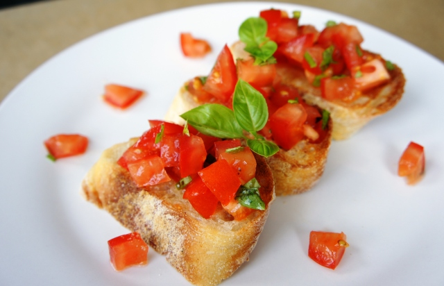 Bruschetta | Close Encounters of the Cooking Kind