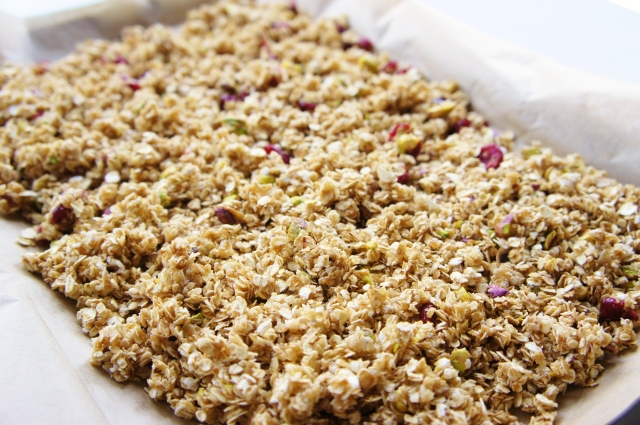 Cranberry & Pistachio Granola Clusters | Close Encounters of the Cooking Kind