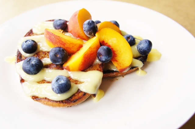 Bagel French Toast with Cream Cheese Glaze   Close Encounters of the Cooking Kind