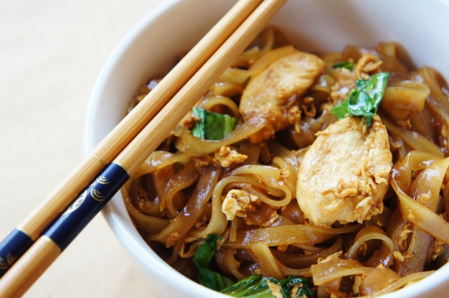 Chicken Pad See Ew | Close Encounters of the Cooking Kind