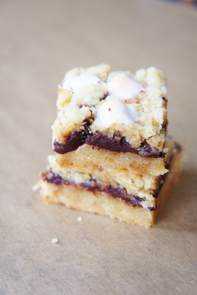 S'mores Slice | Close Encounters of the Cooking Kind