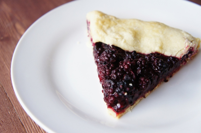 Blackberry Galette | Close Encounters of the Cooking Kind