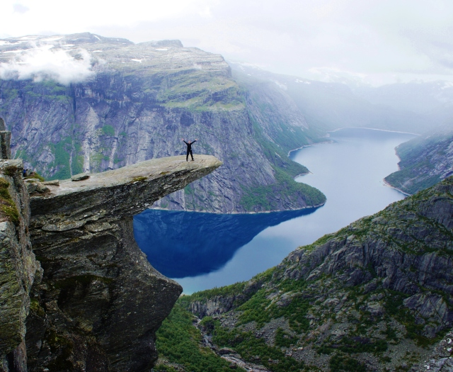 Trolltunga, Norway | Close Encounters of the Cooking Kind