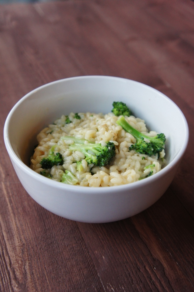 Two Cheese Broccoli Risotto | Close Encounters of the Cooking Kind