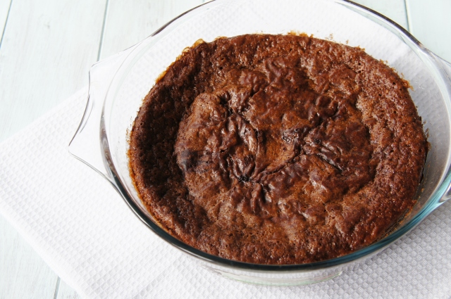 Chocolate Self-Saucing Pudding | Close Encounters of the Cooking Kind