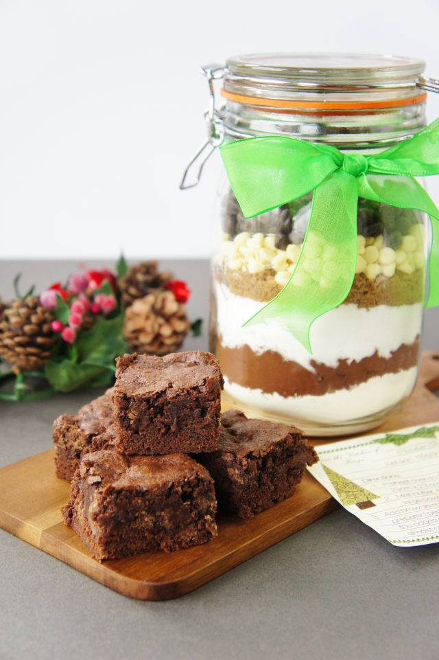 Brownie Mix in a Jar | Close Encounters of the Cooking Kind