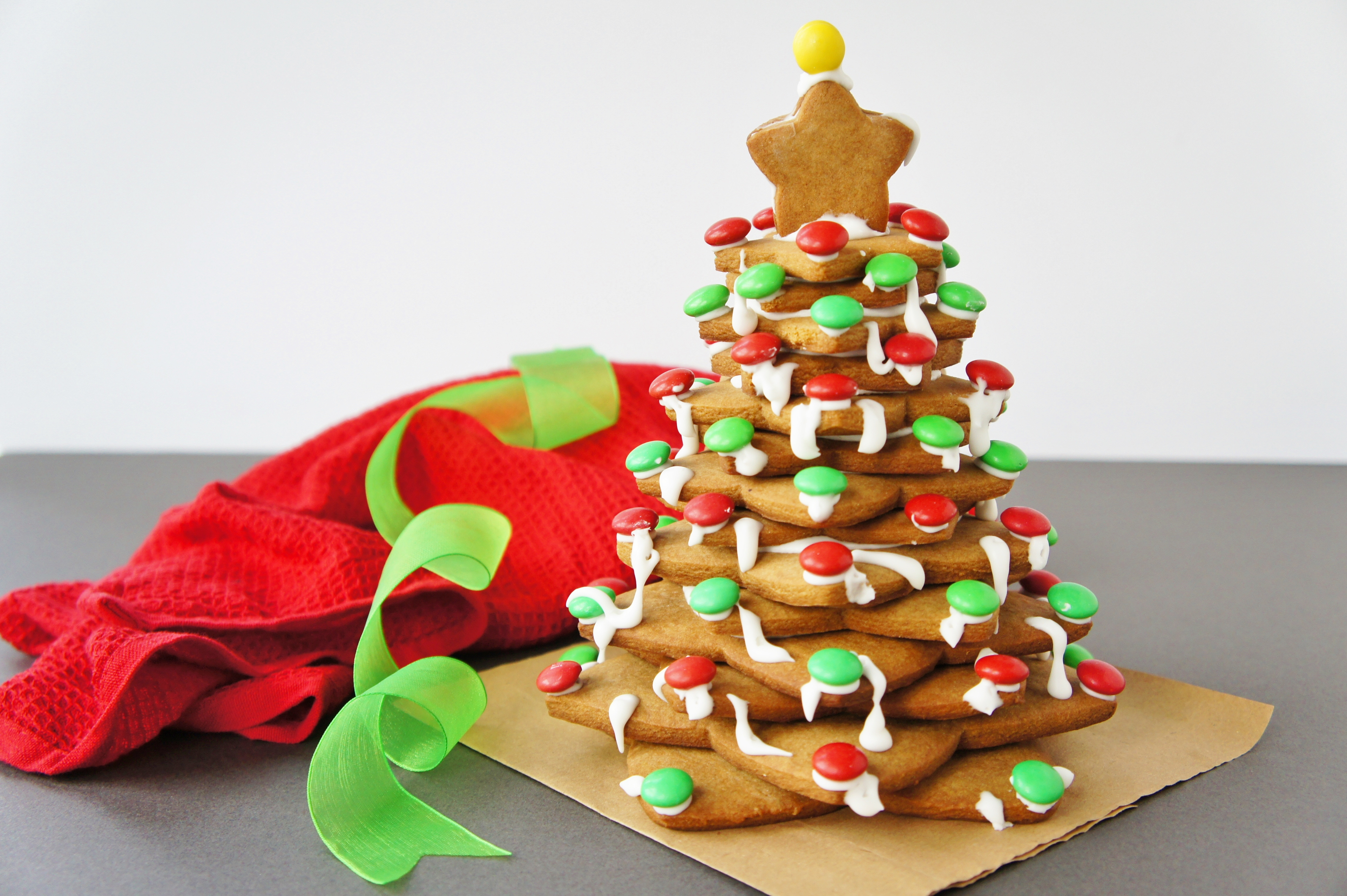 gingerbread christmas tree close encounters of the cooking kind - Christmas Gingerbread