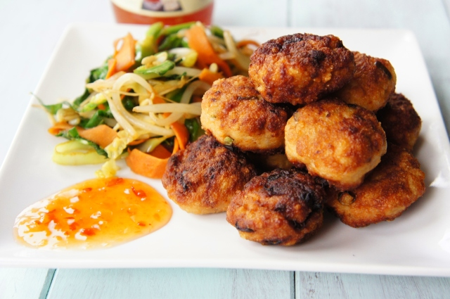 Thai Chicken Meatballs | Close Encounters of the Cooking Kind