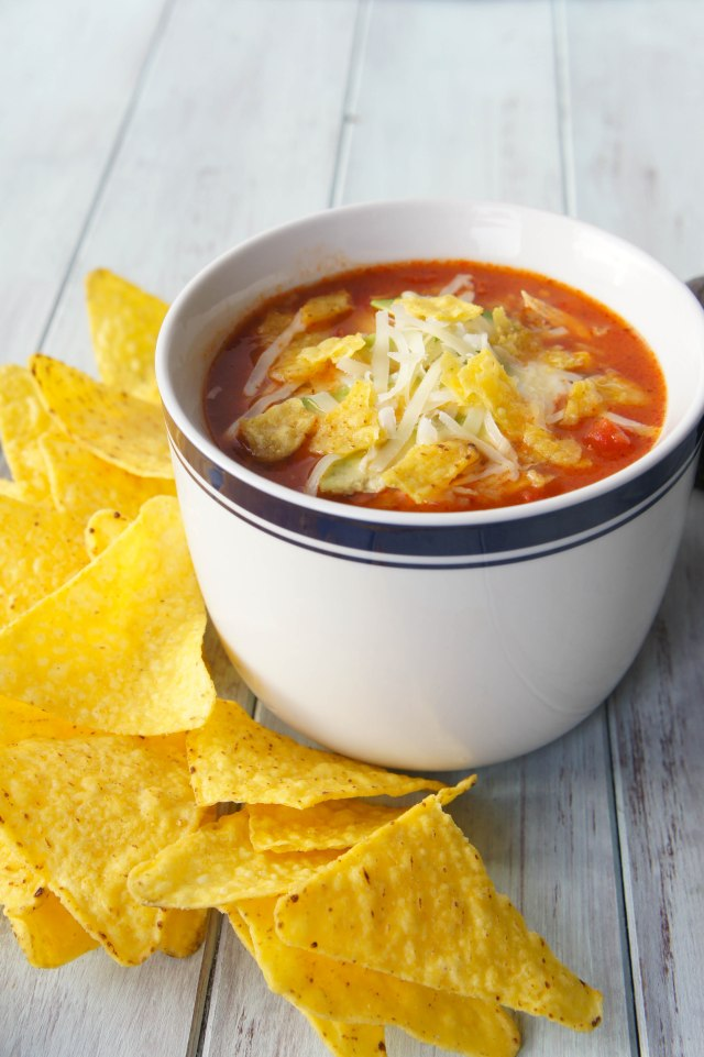 Chicken Tortilla Soup | Close Encounters of the Cooking Kind