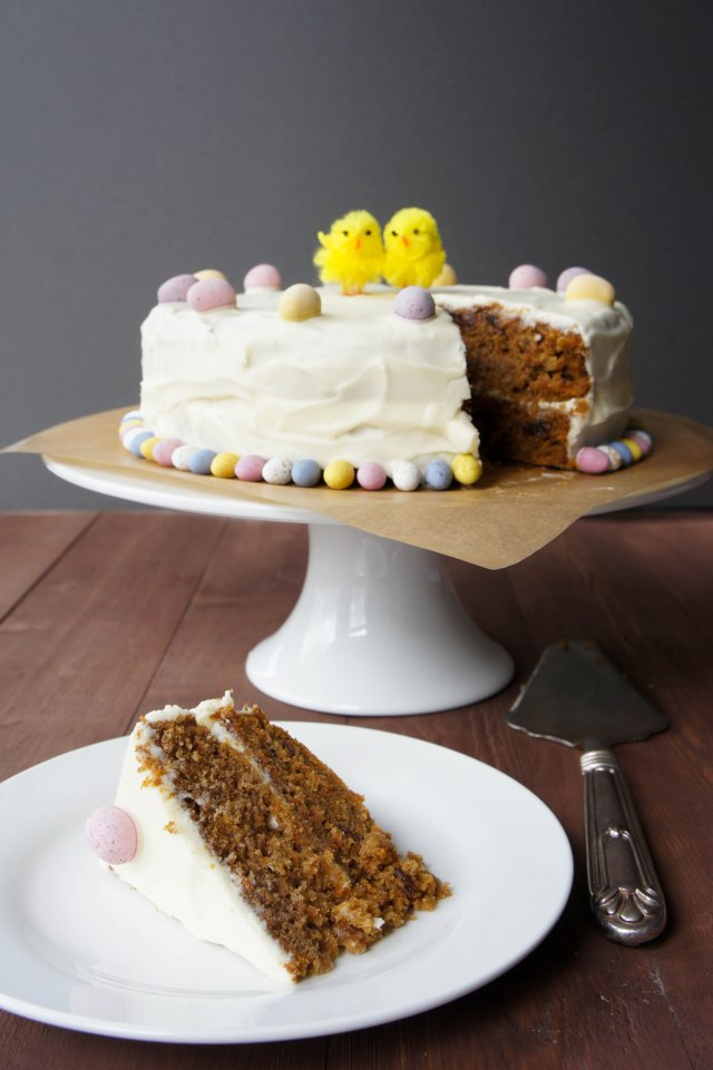 Carrot Cake | Close Encounters of the Cooking Kind