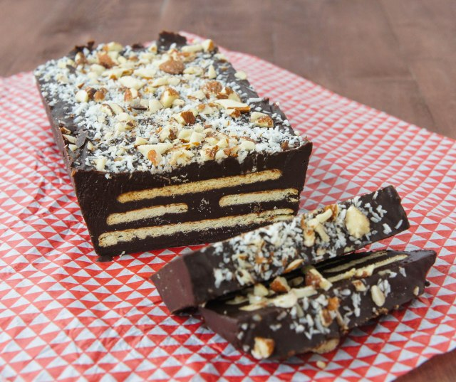 Chocolate Biscuit Slice | Close Encounters of the Cooking Kind