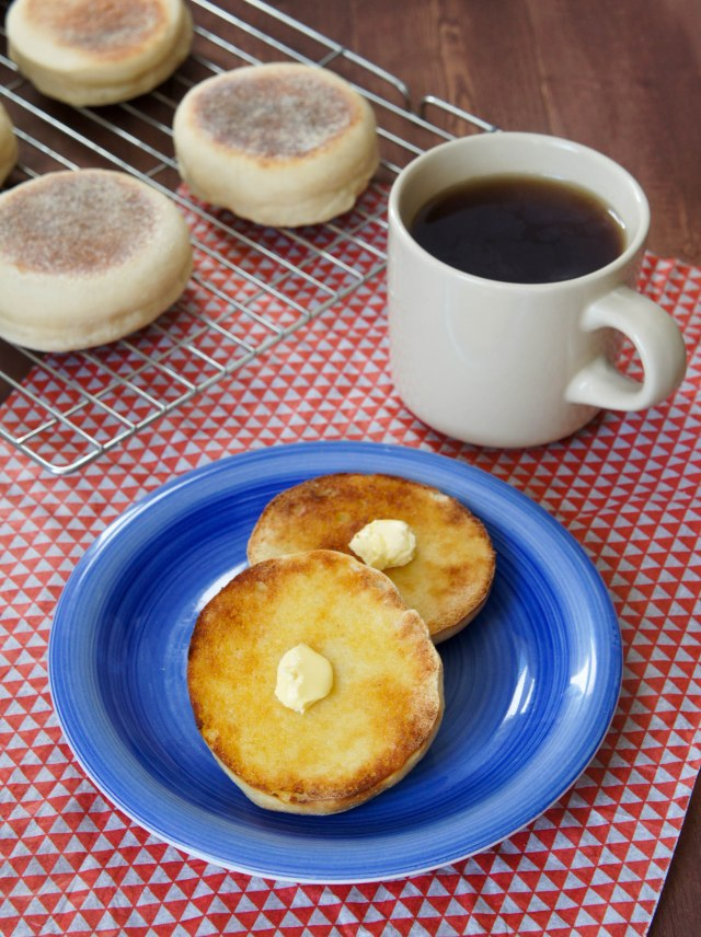 Homemade English Muffins | Close Encounters of the Cooking Kind