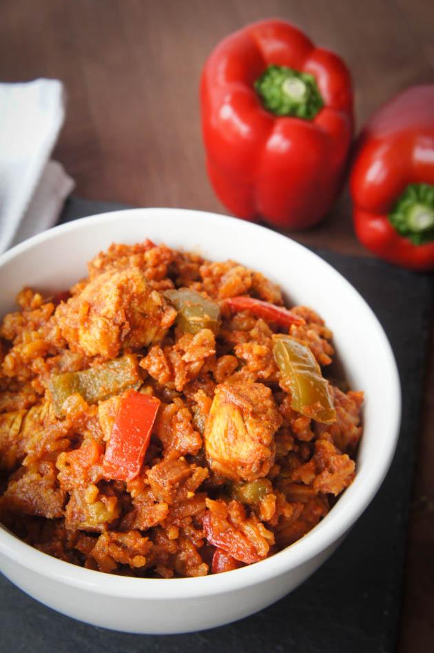 Chicken & Chorizo Jambalaya | Close Encounters of the Cooking Kind