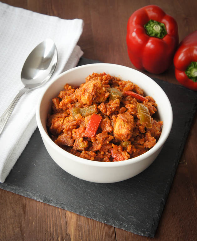 Chicken & Chorizo Jambalaya | Close Encounters of the Cooking Kind