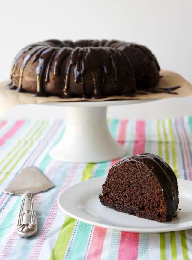 Chocolate Orange Bundt Cake | Close Encounters of the Cooking Kind