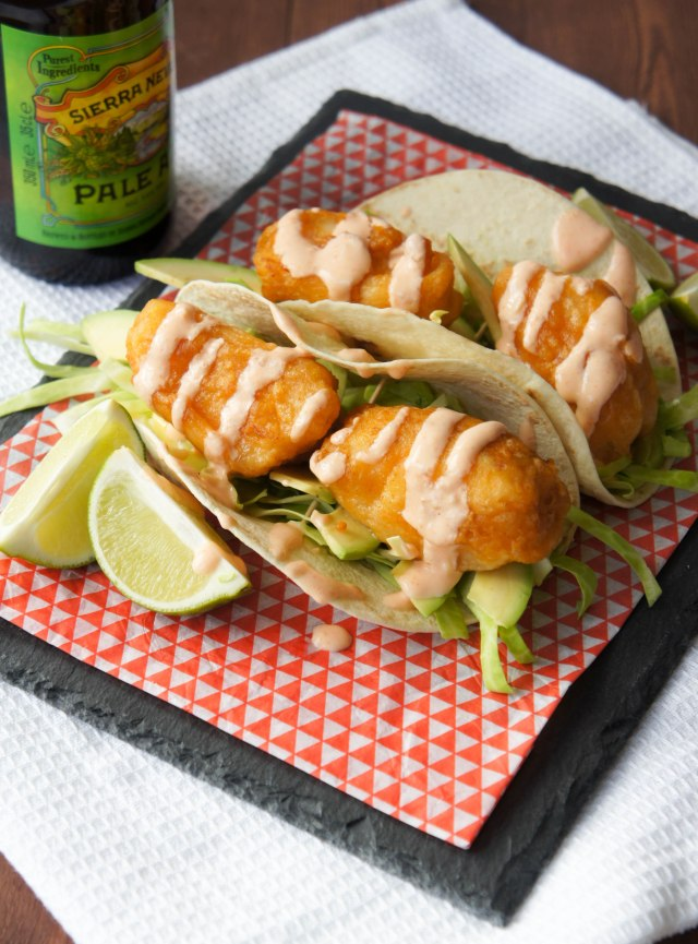 Beer-Battered Fish Tacos | Close Encounters of the Cooking Kind
