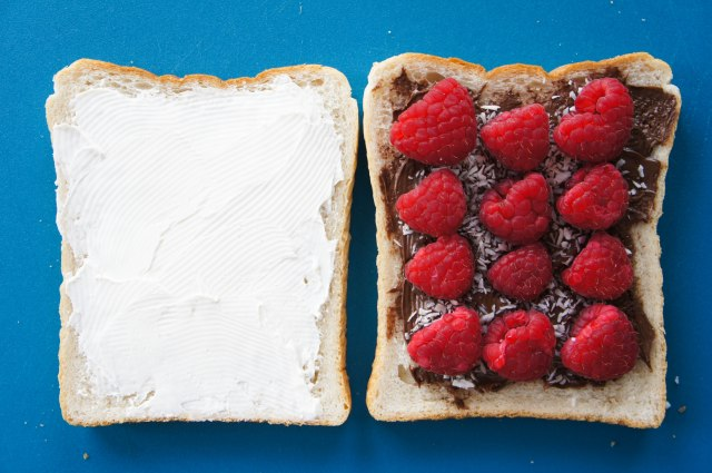 Chocolate, Raspberry & Mascarpone Toasted Cheese Sandwich   Close Encounters of the Cooking Kind