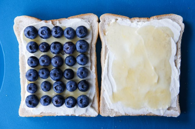 Blueberry, Lemon & Ricotta Toasted Cheese Sandwich | Close Encounters of the Cooking Kind