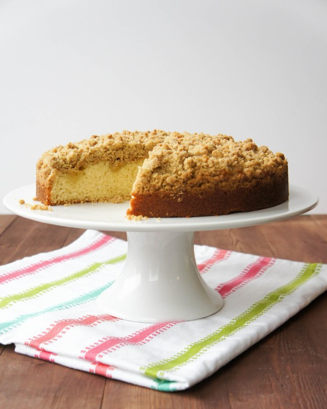 Lemon Curd Crumb Cake | Close Encounters of the Cooking Kind