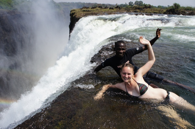 Devil's Pool, Livingstone, Zambia | Close Encounters of the Cooking Kind