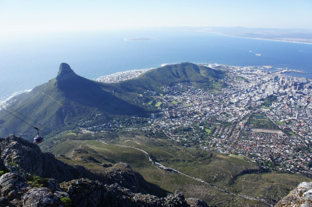 Cape Town from Table Mountain, South Africa | Close Encounters of the Cooking Kind