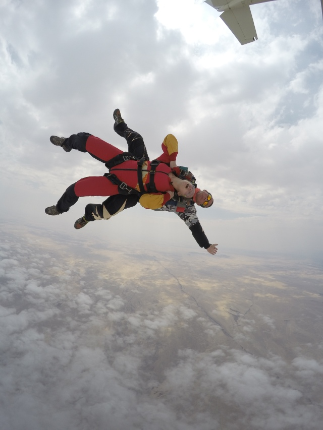 Skydiving, Swakopmund, Namibia | Close Encounters of the Cooking Kind