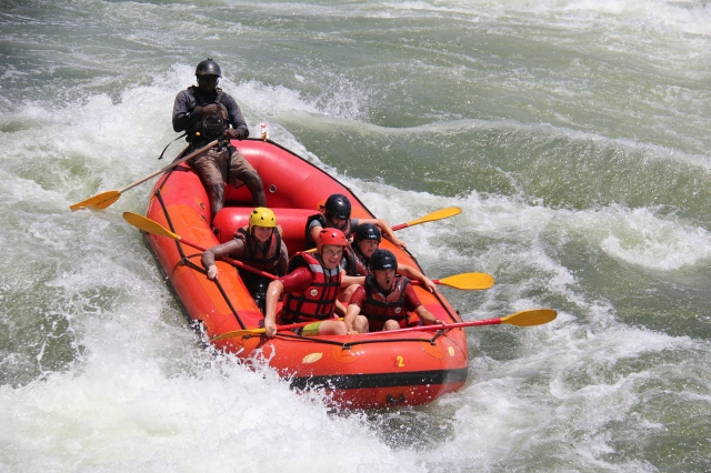 White Water Rafting, Jinja, Uganda | Close Encounters of the Cooking Kind